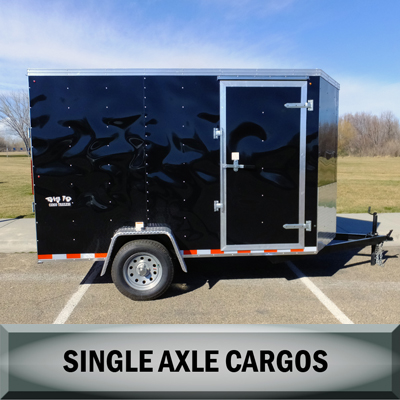 Big 10 Single Axle Cargo Trailers