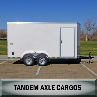 Big 10 Tandem Axle Cargo Trailers